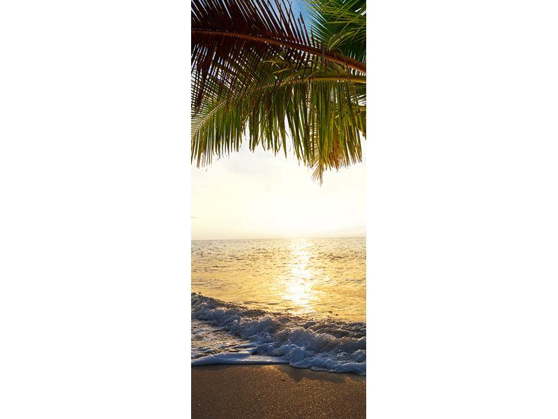 Türtapete Strandsicht