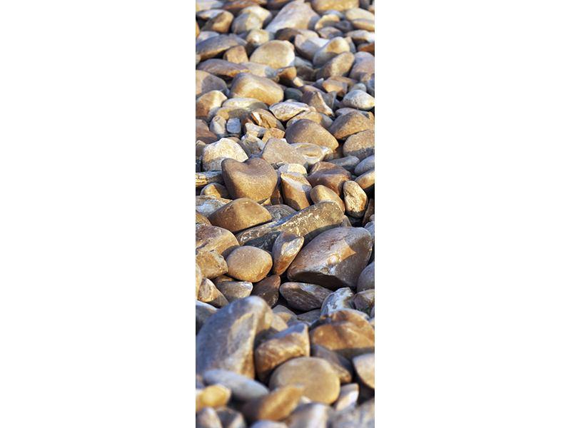 Türtapete Strandsteine