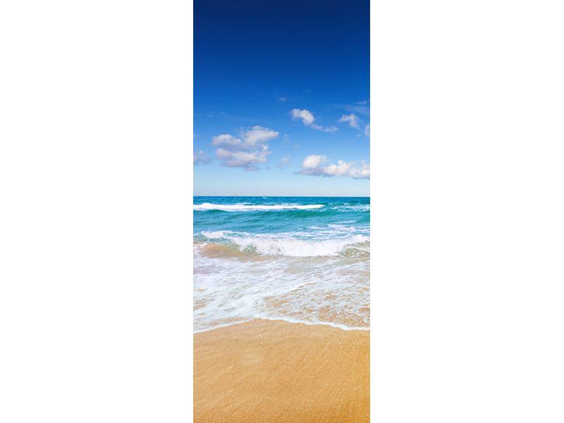 Türtapete Die Gezeiten und das Meer