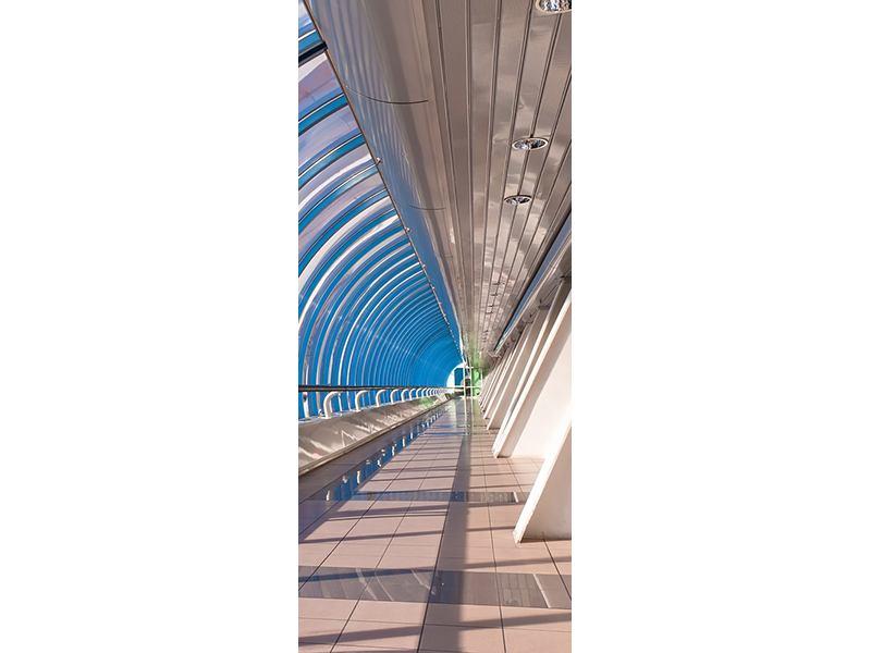 Türtapete Hypermoderne Brücke