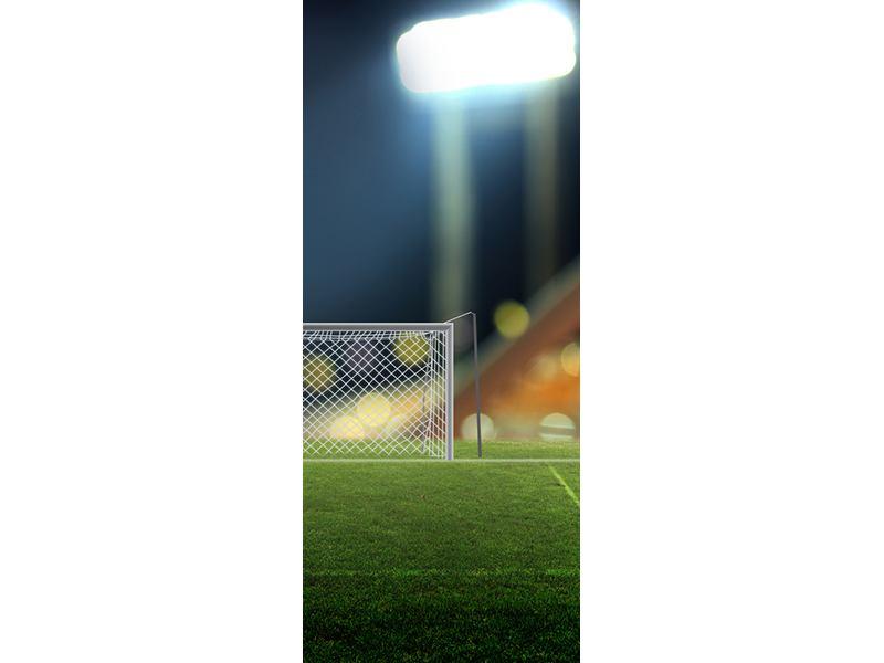 Türtapete Fussballtor