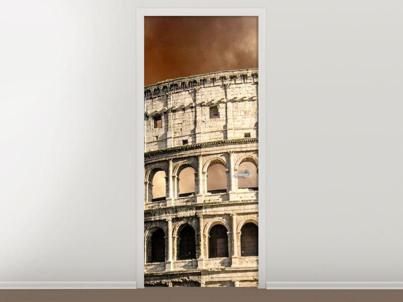 Türtapete Kolosseum Rom