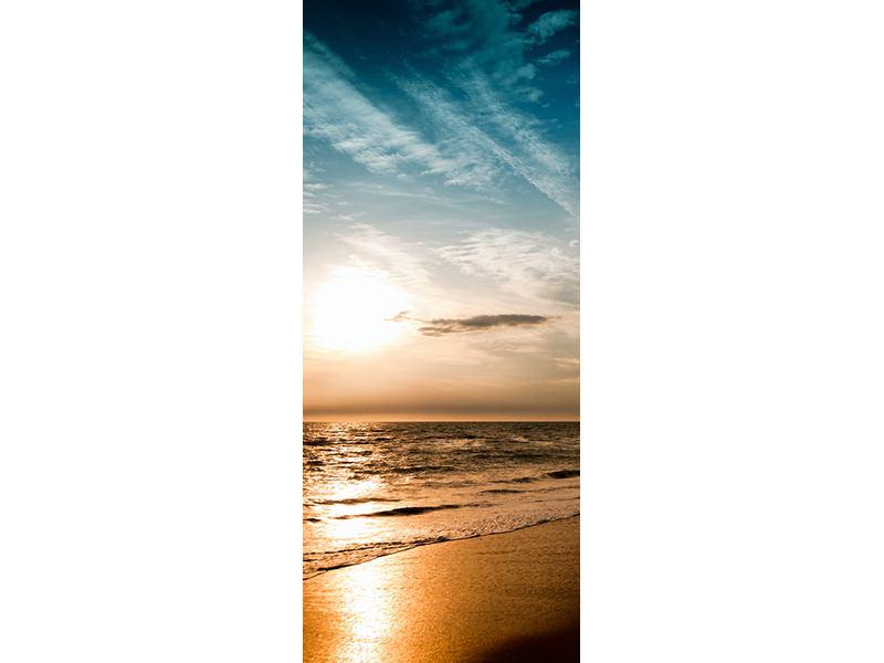 Türtapete Strandspaziergang