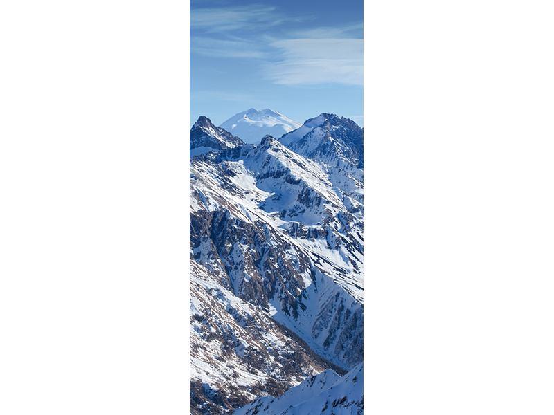 Türtapete Gipfelspitzen