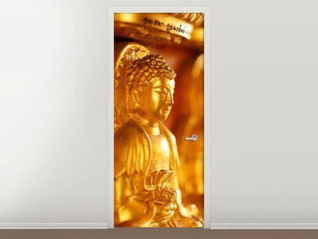 Türtapete Buddhas