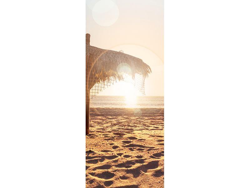 Türtapete Der Sonnenschirm