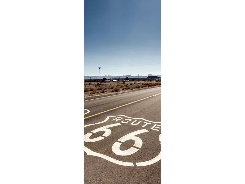 Türtapete Route 66