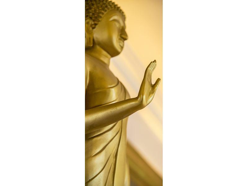 Türtapete Buddha-Statue
