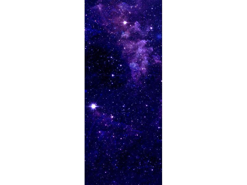 Türtapete Ein Himmel voll Sterne