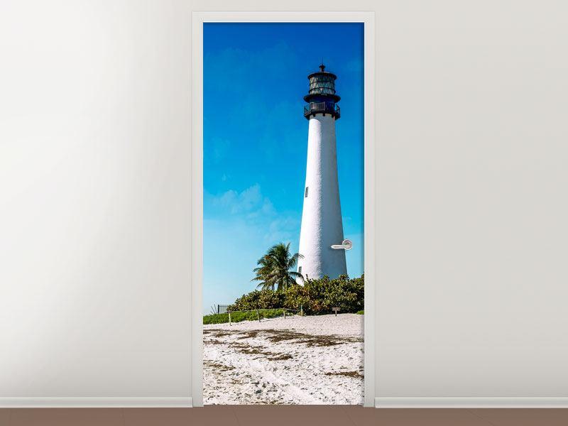Türtapete Cape Florida Ligthhouse