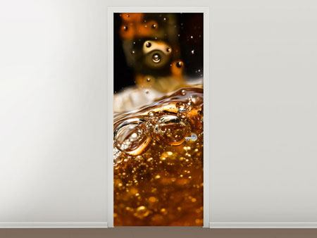 Türtapete Cognac