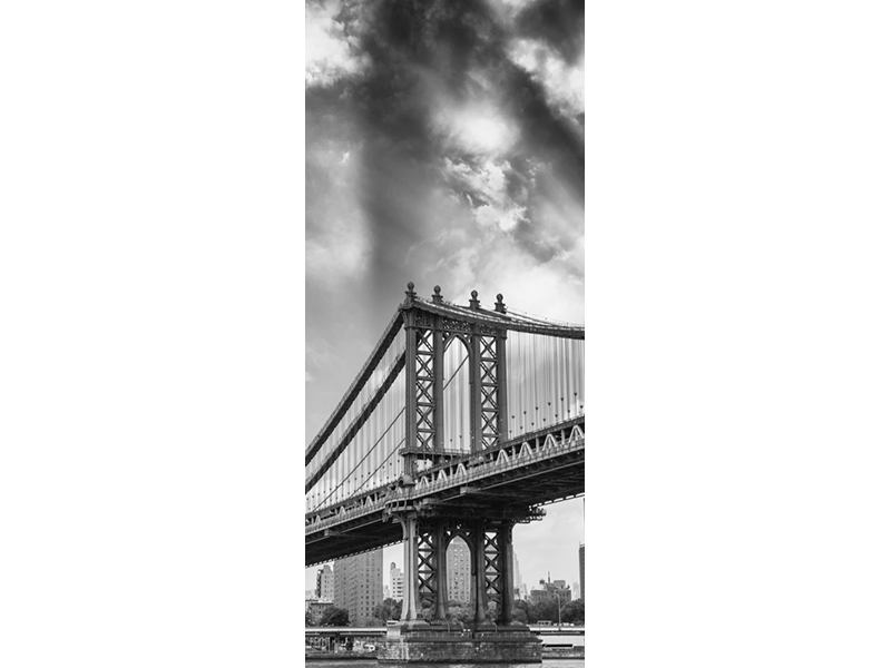 Türtapete Manhattan Bridge