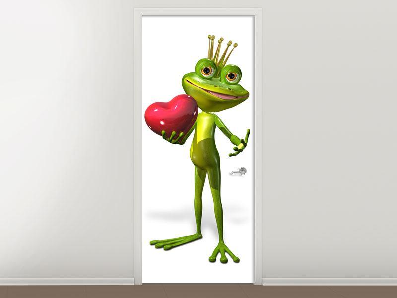 Türtapete Froschkönig