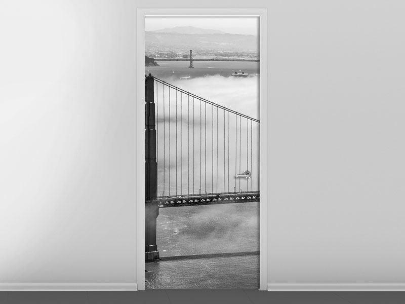 Türtapete Golden Gate Brücke