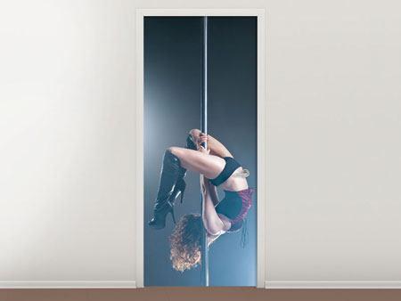 Türtapete Poledance
