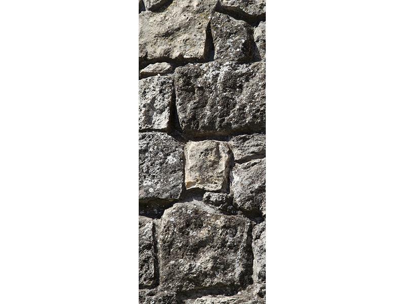 Türtapete Grosses Mauerwerk