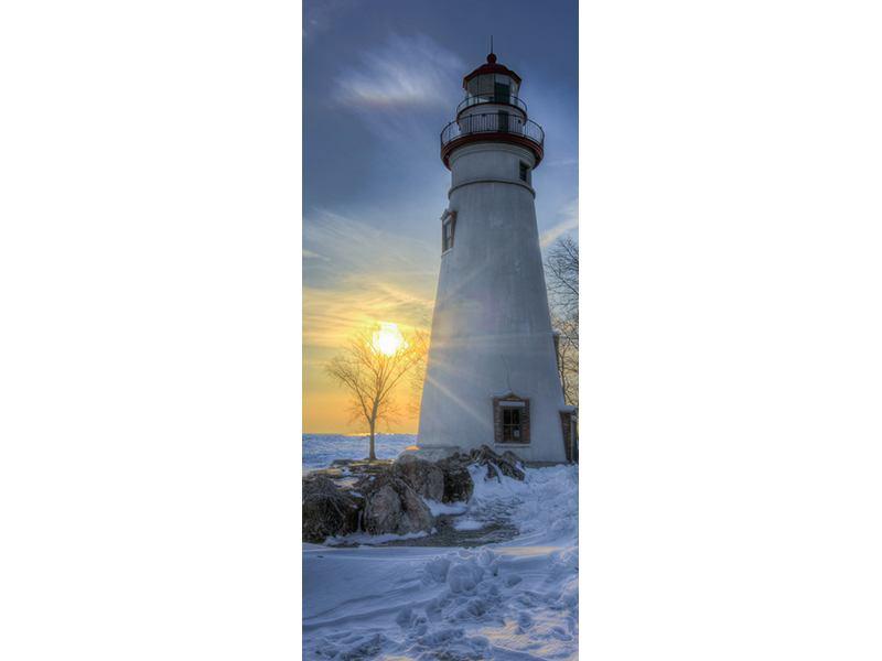 Türtapete Marblehead Leuchtturm