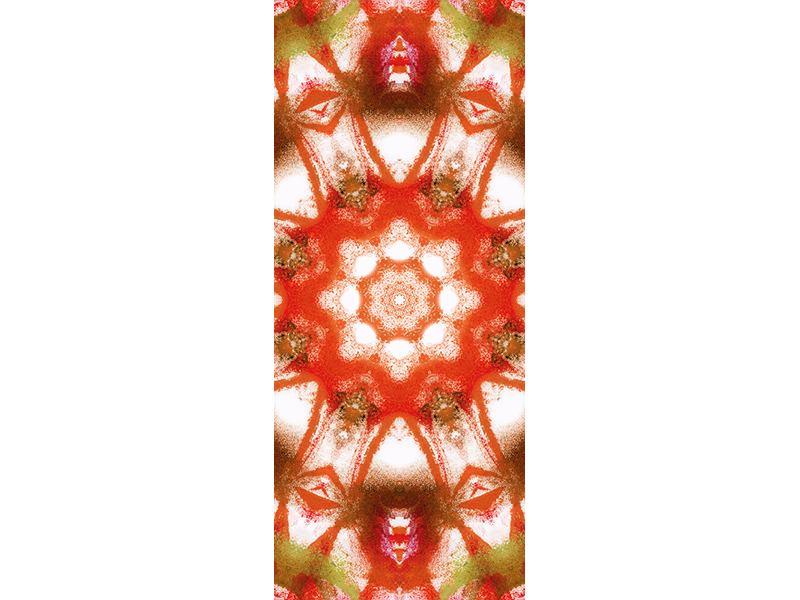 Türtapete Geometrisches Gemälde