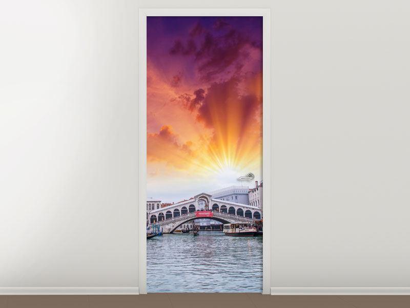 Türtapete Venedig