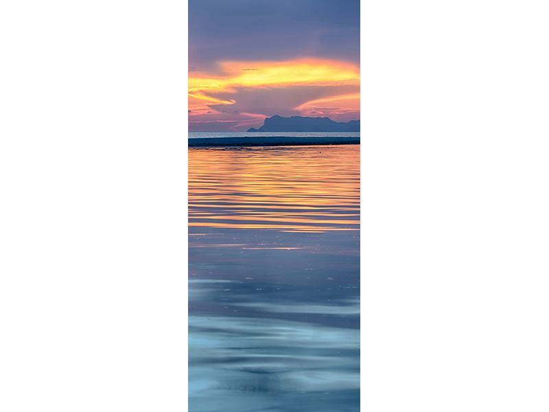 Türtapete Ruhige See