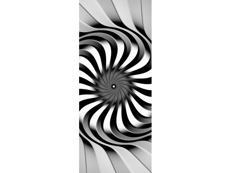 Türtapete Abstrakte Spirale