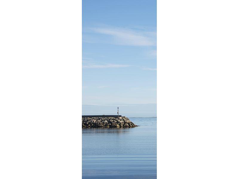 Türtapete Hafenmauern