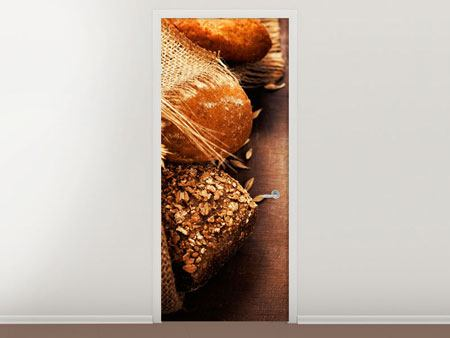 Türtapete Frische Brote