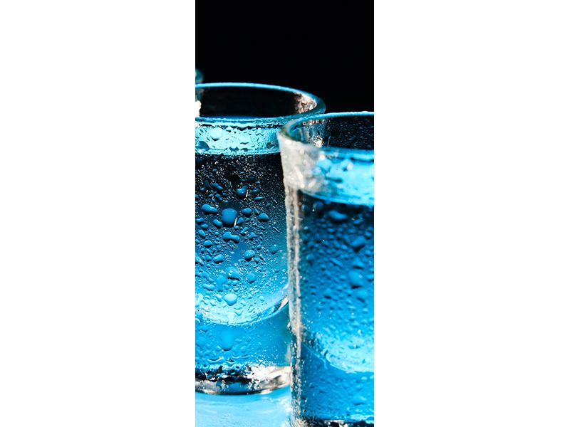Türtapete Wodka Pur