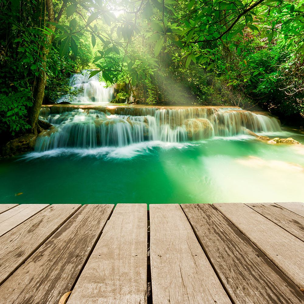 Window Print Waterfall Thailand