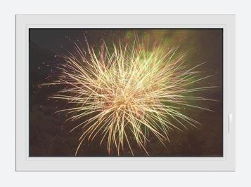 Window Print Fireworks XXL