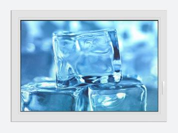 Window Print Ice Cubes XXL