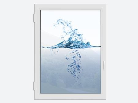 Window Print Waterwall