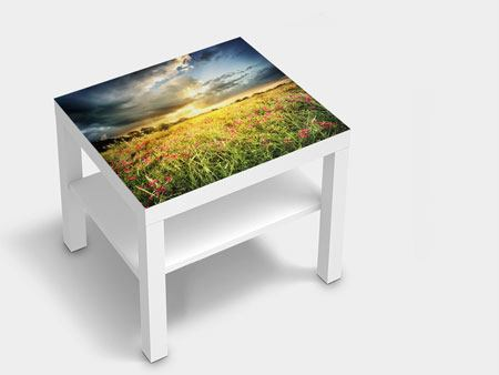 Furniture Foil Flowers Landscape