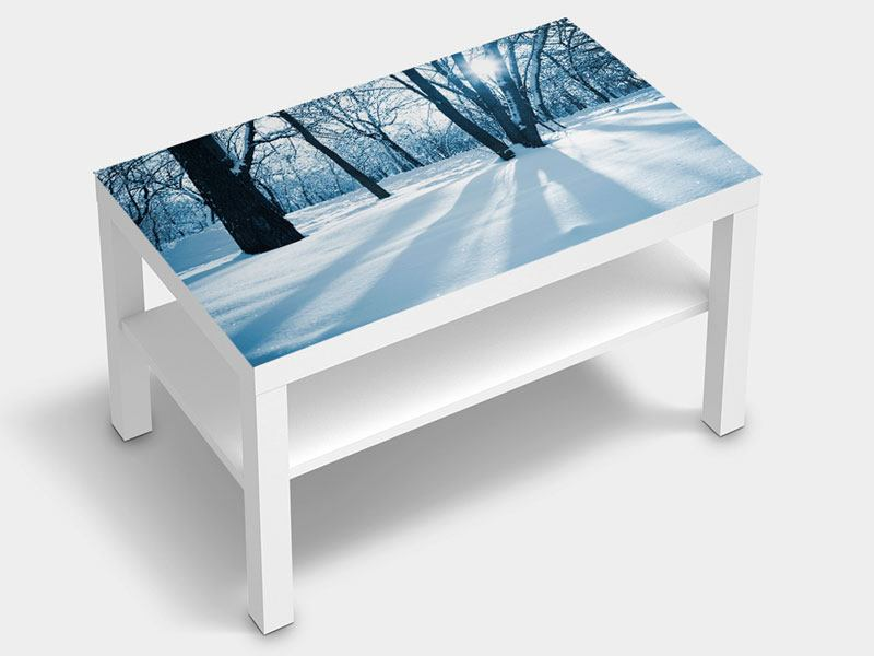 Furniture Foil The Forest Without Tracks In The Snow
