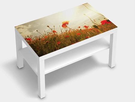 Furniture Foil The Poppy Field At Sunrise