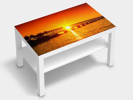 Furniture Foil Sunset On The Bridge