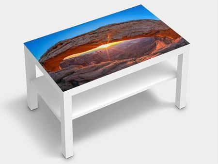 Furniture Foil Sunset At Mesa Arch