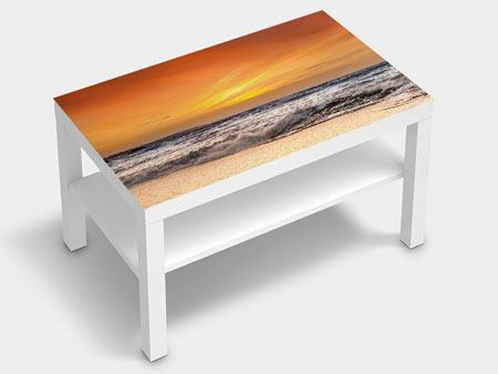 Furniture Foil Lake With Sunset