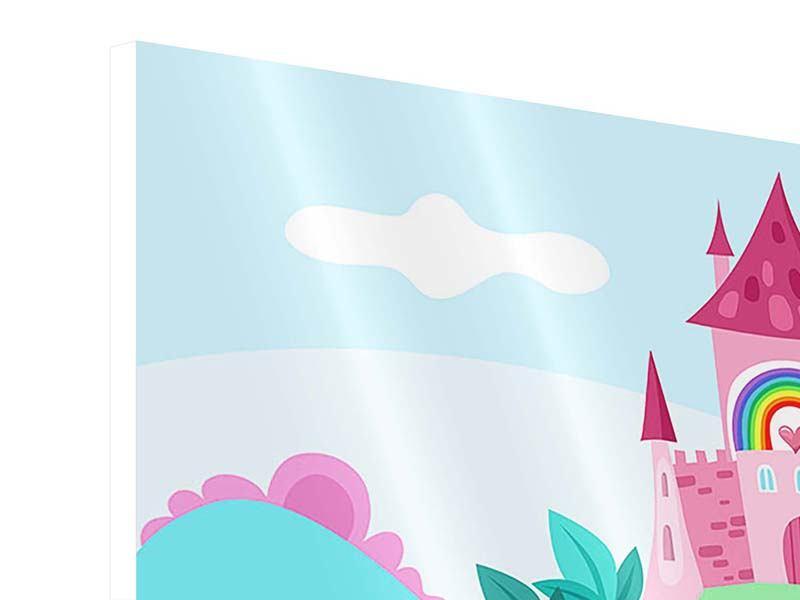 Hartschaumbild Panorama Prinzessinnentraum