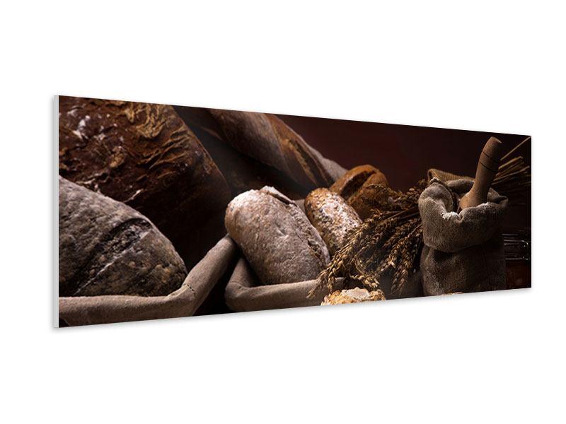 Hartschaumbild Panorama Brotbäckerei