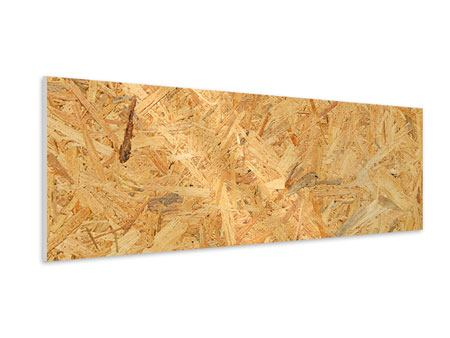 Hartschaumbild Panorama Gepresstes Holz