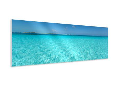Hartschaumbild Panorama Das Meer und Jules Verne