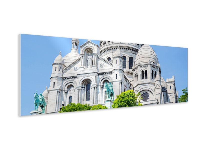 Hartschaumbild Panorama Paris- Montmartre