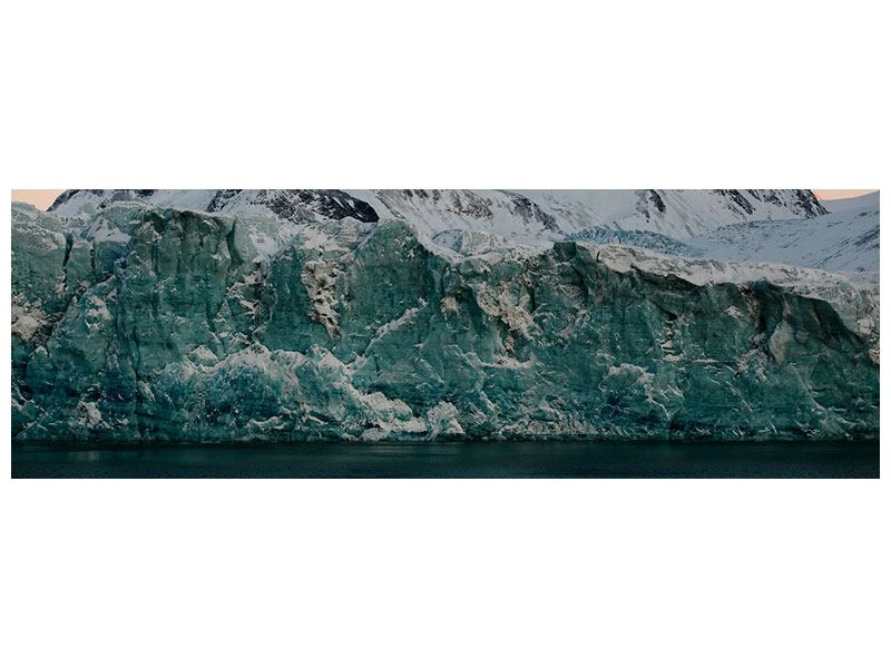 Hartschaumbild Panorama Die Antarktis
