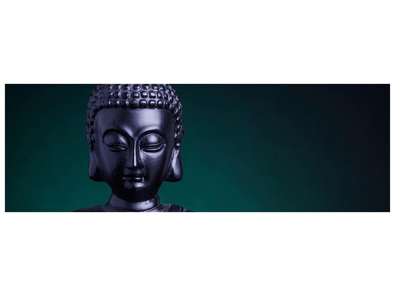 Hartschaumbild Panorama Die Weisheit des Buddhas