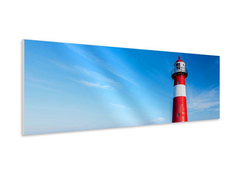 Hartschaumbild Panorama Der Leuchtturm