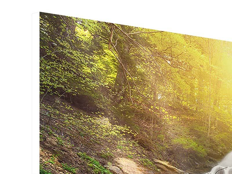Hartschaumbild Panorama Naturschönheit