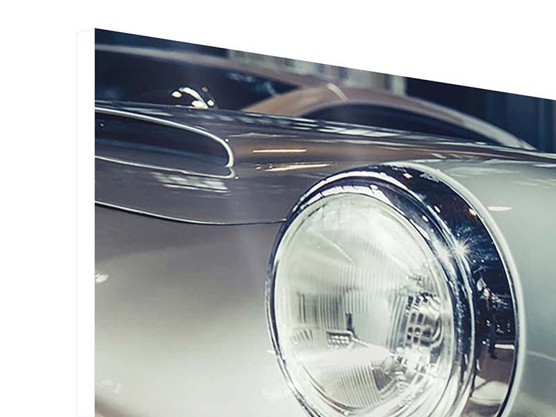 Hartschaumbild Panorama Classic Car