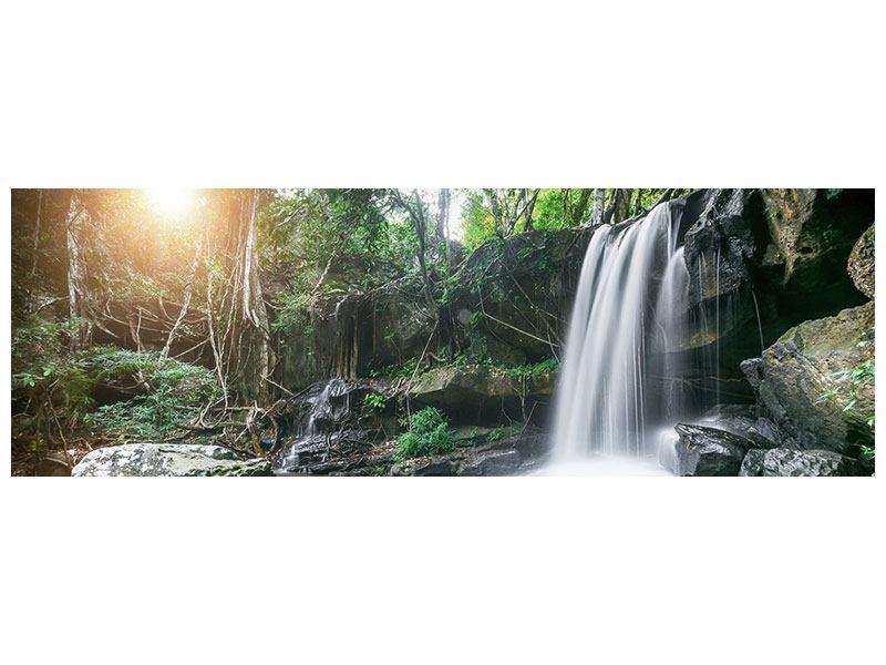 Hartschaumbild Panorama Naturschauspiel