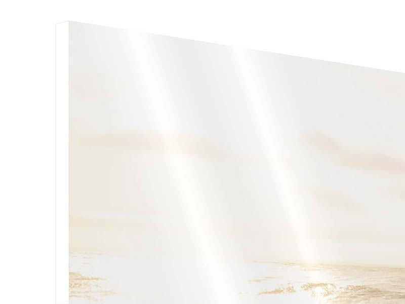 Hartschaumbild Panorama Meeresbrandung